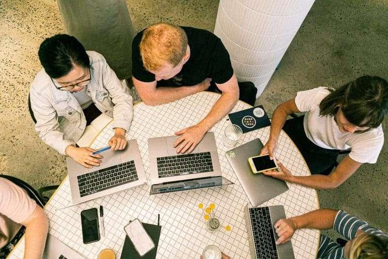 Zusammenarbeit durch Digitalisierung