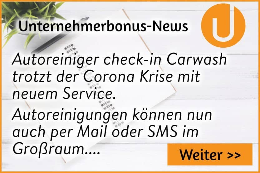 check-in Carwash trotzt der Corona Krise