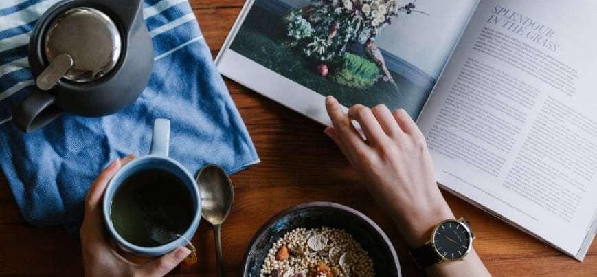Magazin entspannt lesen
